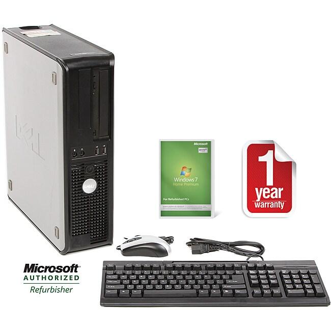 Dell Optiplex 755 Intel Core 2 Duo 2.33GHz CPU 2GB RAM 250GB HDD Windows 10 Home Desktop Computer (Refurbished)