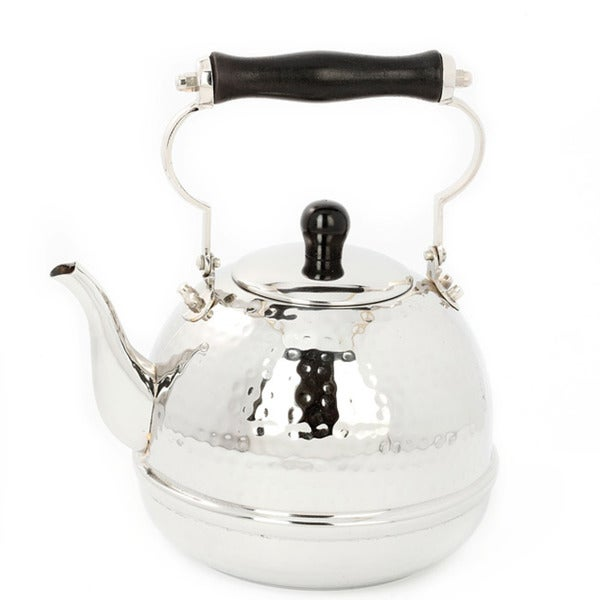 Old Dutch Stainless Steel Wooden Handle Teakettle