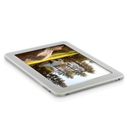 BasAcc Clear White Silicone Skin Case for Apple iPad 1