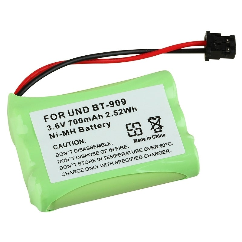 Insten Compatible Ni-MH Battery for Uniden BT-909 Cordles...