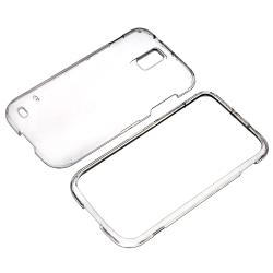 INSTEN Clear Crystal Phone Case Cover for Samsung Galaxy S II T-Mobile T989