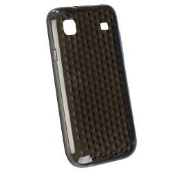 BasAcc Clear Smoke Mid Diamond TPU Skin Case for Samsung T959/ i9000