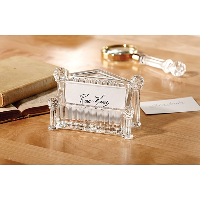 Fifthe Avenue Crystal Card Holder