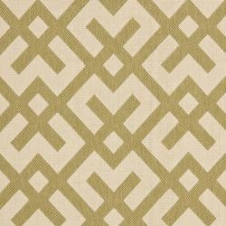 Safavieh Courtyard Contemporary Beige/ Green Indoor/ Outdoor Rug (8' x 11'2) - Thumbnail 2