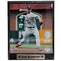 St. Louis Cardinals Pitcher Adam Wainwright Stat Decorative Plaque