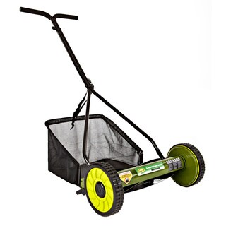 Sun Joe Mow Joe 16-Inch Manual Reel Mower with Catcher MJ500M