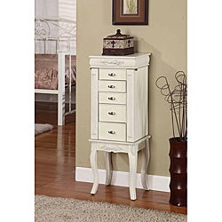 Morre 5 Drawer Jewelry Armoire