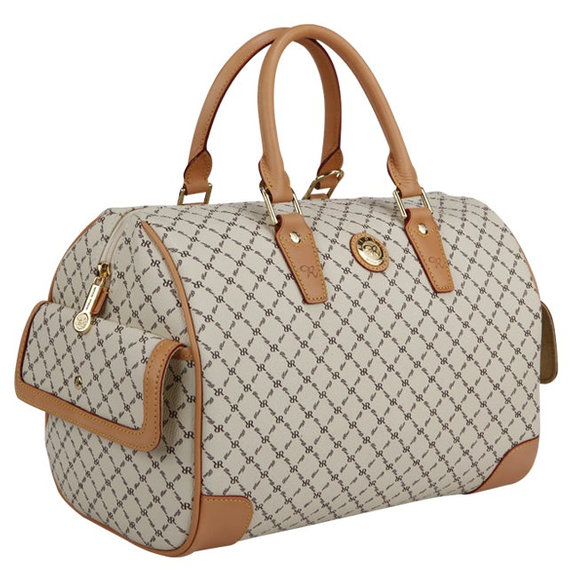 Rioni Women's 'Boston' Vanilla Large Satchel Bag