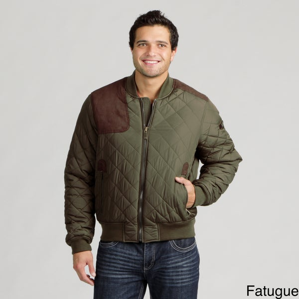 Sean John Men's Quilted Flight Jacket FINAL SALE