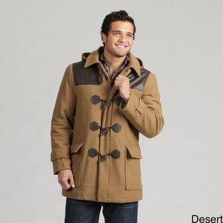 Sean John Men's Wool Blend Toggle Coat
