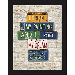 Greg Constantine 'Vincent, Dream' Framed Print