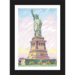 L.A. Pop Art 'America the Beautiful' Framed Print