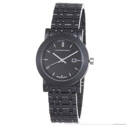 Burberry Women's BU1871 'Ceramic' Black Dial Bracelet Quartz Watch
