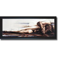 Di Villiers 'Essential Self' Framed Canvas Art - Multi