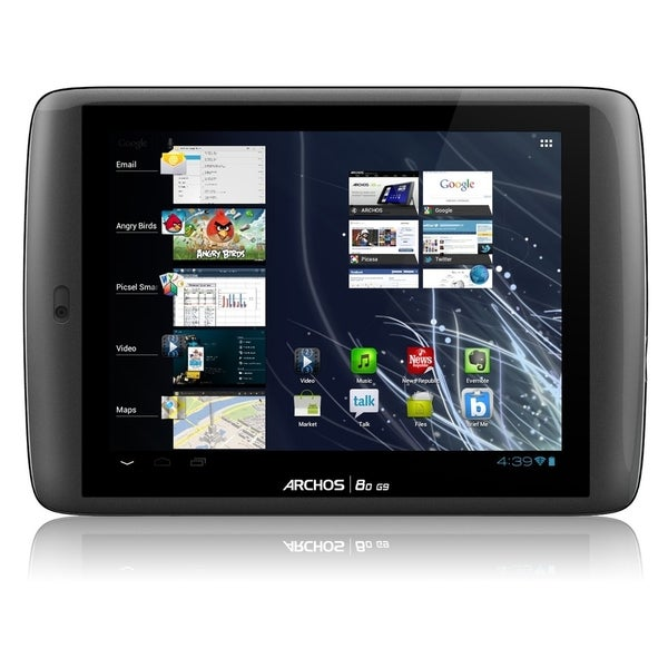 "Archos 80 G9 4 GB Tablet - 8"" - Wireless LAN - Texas Instruments OMAP"