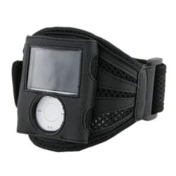 INSTEN Black Deluxe Armband for Apple iPod Nano 3rd Generation