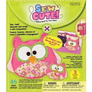 Sew Cute 'Owls' Craft Box Kit
