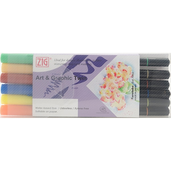 Zig Art & Graphic Vivid Twin Set (Pack of 6)