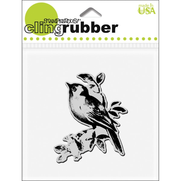 Stampendous 'Lone Bird' Cling Rubber Stamp