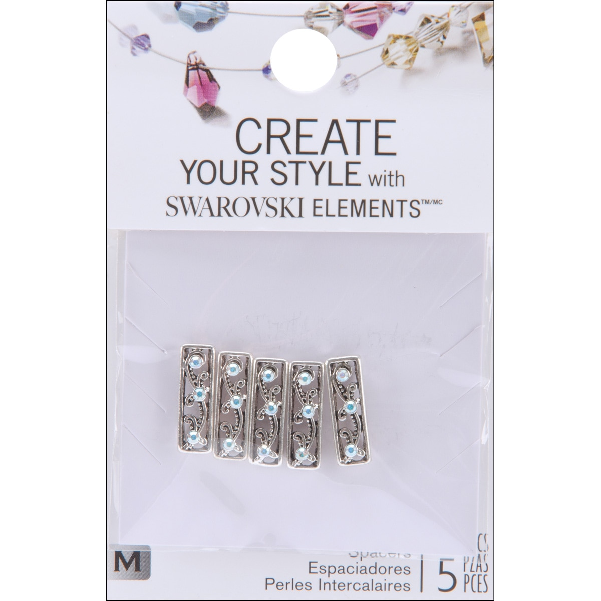 Jolee's Jewels Spacer Beads (Pack of 5)