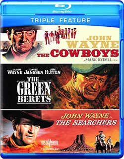 The Cowboys/The Green Berets/The Searchers (Blu-ray Disc)