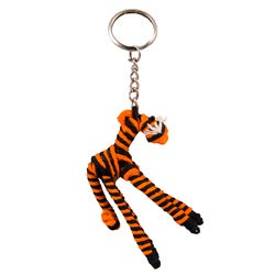Yarn Tiger Keychain (Colombia)