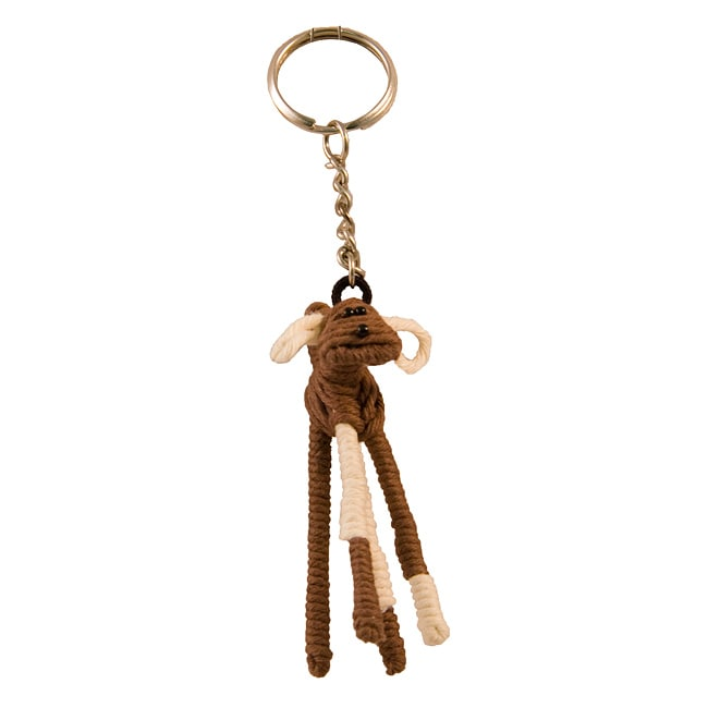 Yarn Dog Keychain (Colombia) - Thumbnail 0