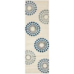 Safavieh Handmade Soho Celeste Ivory New Zealand Wool Rug (2'6 x 8')