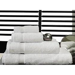 Royal Turkish Towel Villa 4-piece Cotton Towel Set with Bath Sheet