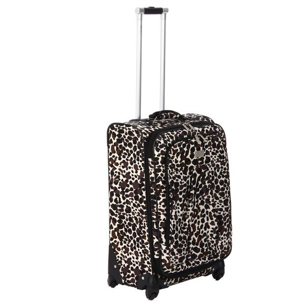 Nicole Miller 'Camo Cheetah' 28-inch Expandable Spinner Upright