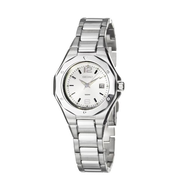 Seiko Women's 'Dress' Stainless Steel Quartz Watch