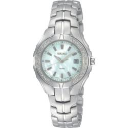 Seiko Women's 'Diamond' Stainless Steel Quartz Watch