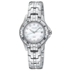 Seiko Women's SXDA31 'Bracelet' Stainless Steel Quartz Diamond Watch