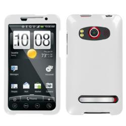 White HTC EVO 4G Protector Case