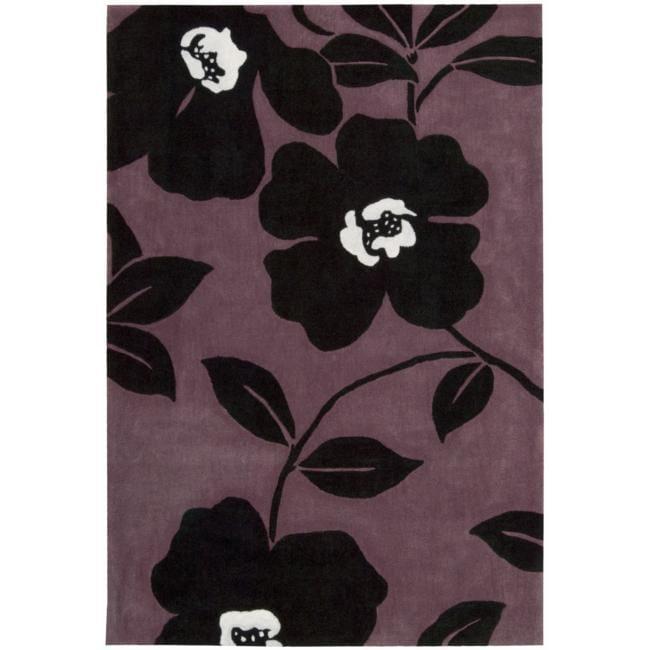 Nourison Hand-tufted Metropolitan Lavender Rug (8' x 10'6)