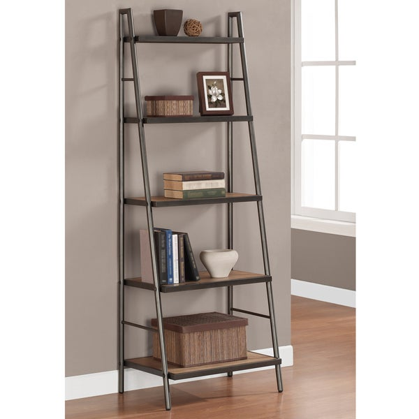 stones stripes elements ladder shelf - Overstock Bookshelves