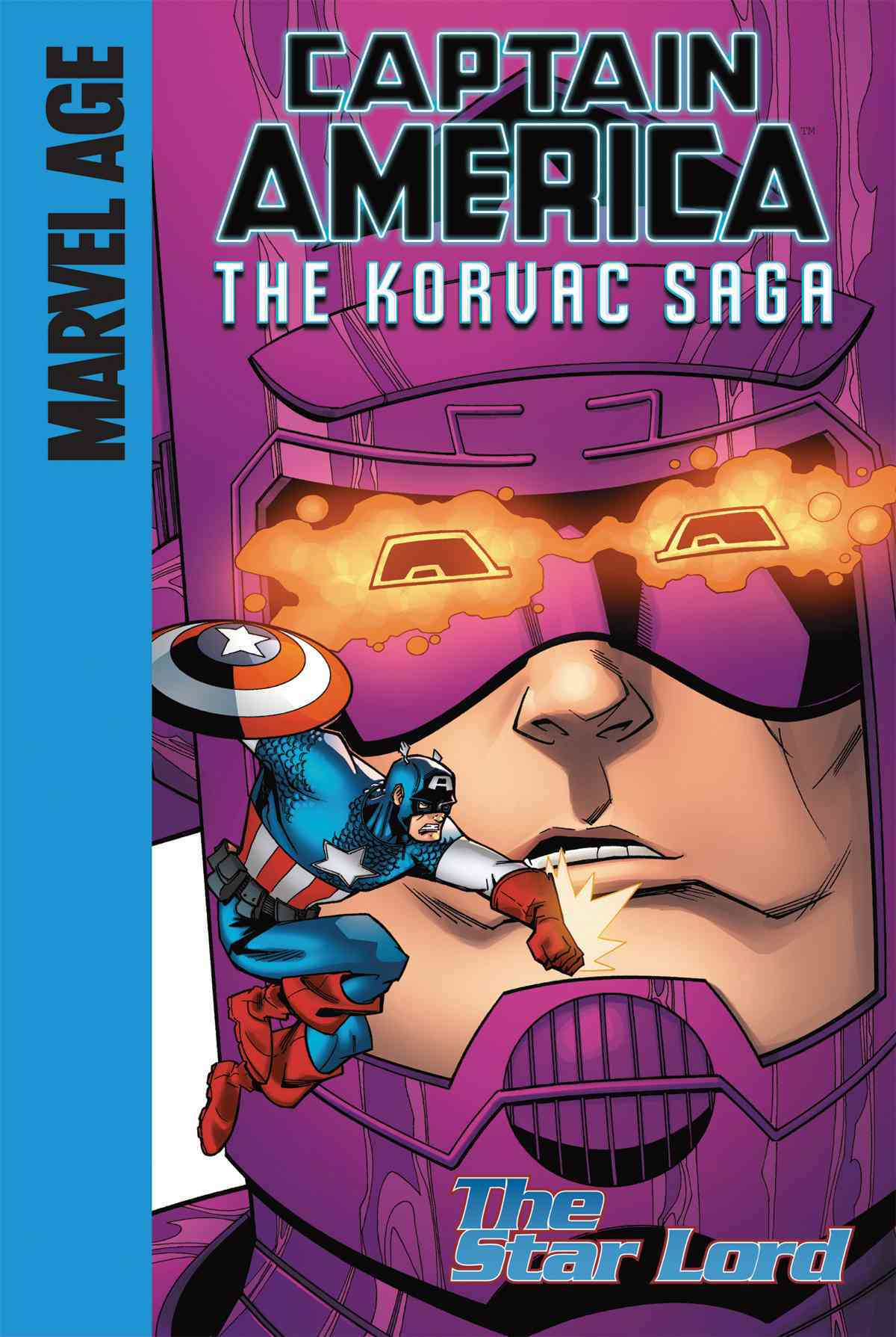 Captain America: The Korvac Saga 4: The Star Lord, Library Edition (Hardcover)