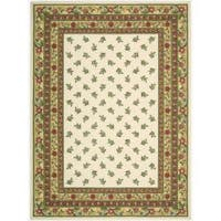 Nourison Hand-hooked Ivory Country Heritage Rug (8' x 11')