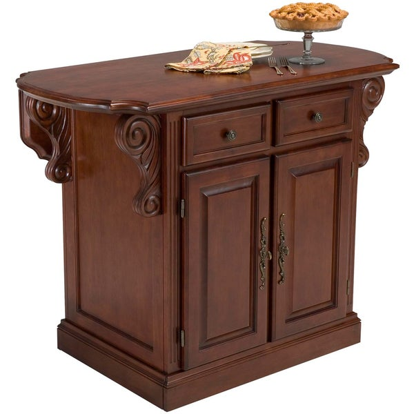 Traditions Cherry Kitchen Island