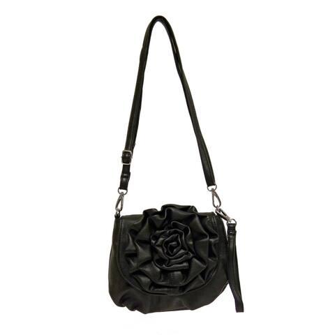 Handmade Donna Bella Piccola Rosa Crossbody Handbag