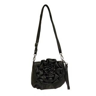 Donna Bella Designs 'Piccola Rosa' Crossbody Handbag