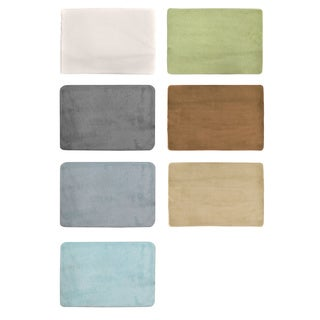 Sleep Innovations Memory Foam Bath Mats (Set of 2)
