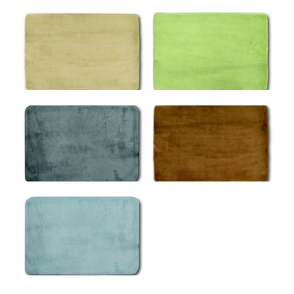 Memory Foam All Purpose Mats (Set of 2) - 1'10 x 1'4