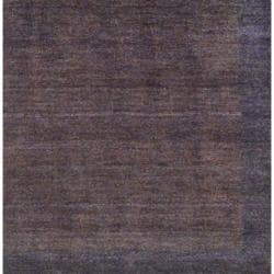 Indo Hand-Knotted Light Brown/Brown Tibetan Wool Rug (4' x 6')
