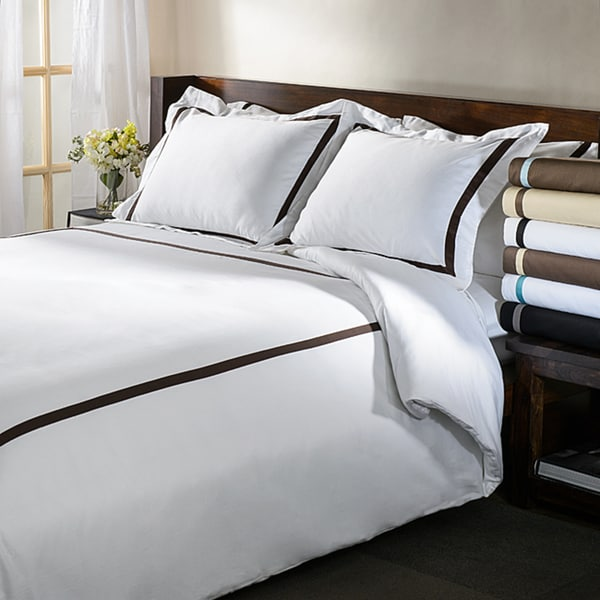 Superior Hotel Collection 300 Thread Count Cotton Sateen Duvet Cover Set by Superior
