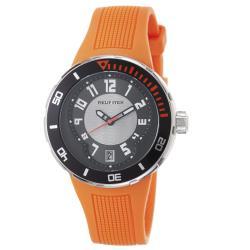 Philip Stein Men's 34-BRG-RO 'Active Extreme' Orange Rubber Strap Watch