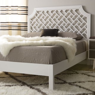 The Curated Nomad Trellis Queen-size Bed