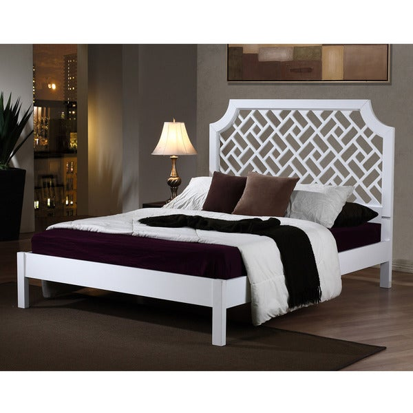 trellis queensize bed free shipping today