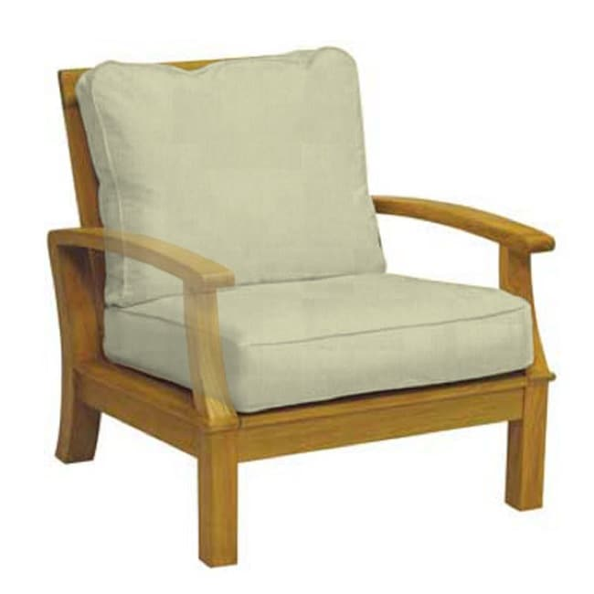 Carmel Deep Seating Teak Armchair - Thumbnail 0