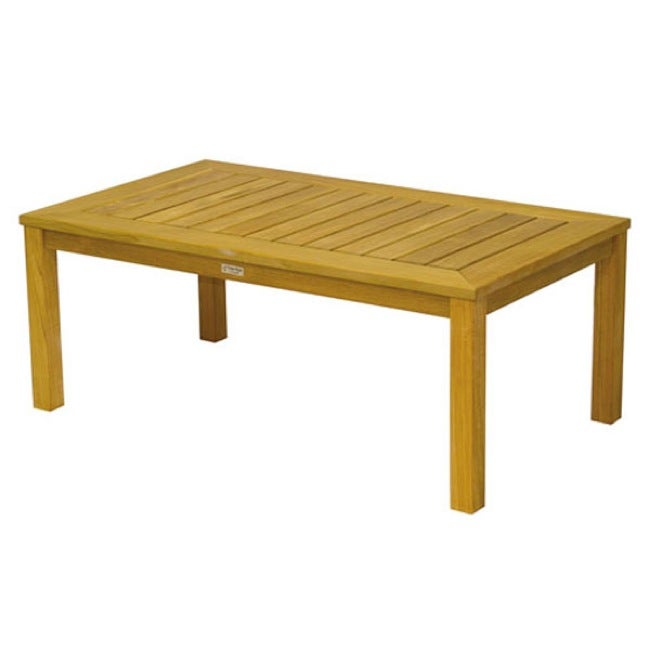 Hyannis 48-inch Rectangular Teak Coffee Table